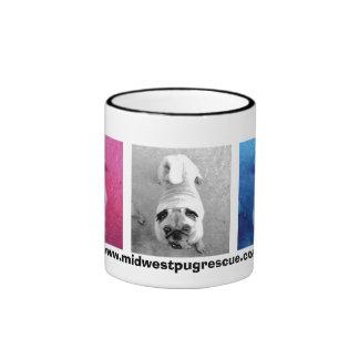 pooter del arte pop taza de dos colores