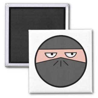 Pootie! - Ninjahead Square Magnet