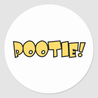 Pootie! - Small Stickers