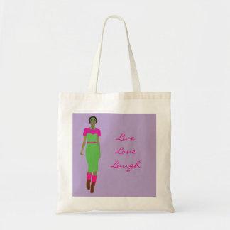 Pop Art  Afro-centric Budget Tote Bag