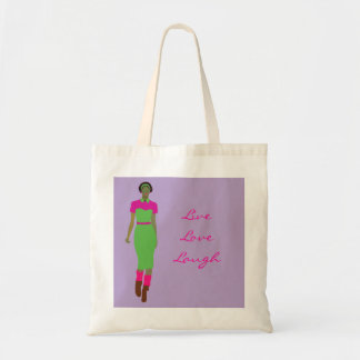 Pop Art  Afro-centric Tote Bag