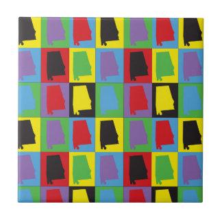 Pop Art Alabama Ceramic Tiles