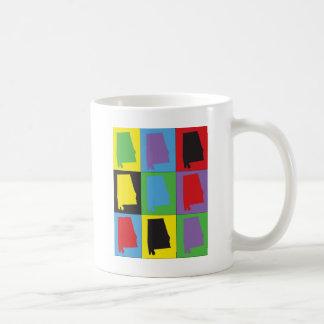 Pop Art Alabama Mug
