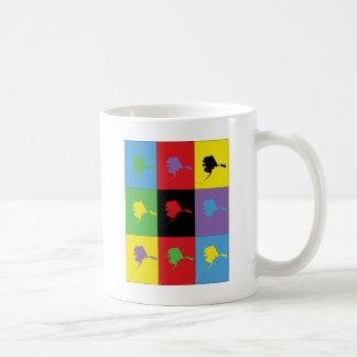 Pop Art Alaska Coffee Mug