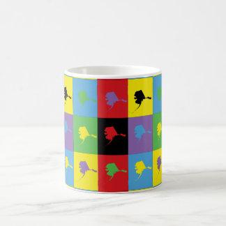 Pop Art Alaska Coffee Mugs