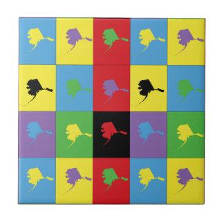 Pop Art Alaska Tile