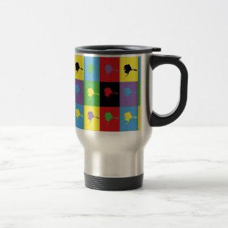 Pop Art Alaska Travel Mug
