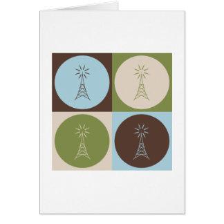 Pop Art Amateur Radio Cards