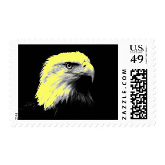 Pop Art American Eagle Stamps