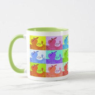 Pop Art Apple Mug