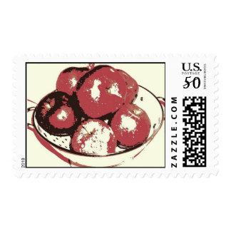 Pop Art Apples Postage