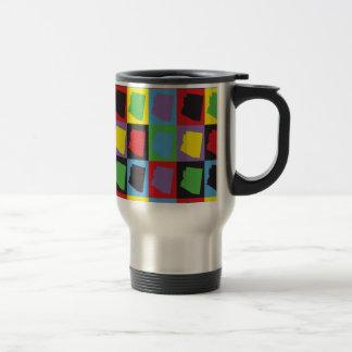 Pop Art Arizona Travel Mug