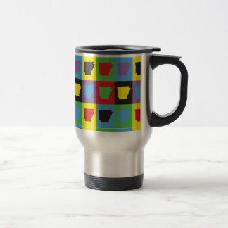 Pop Art Arkansas Coffee Mug