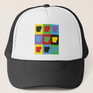 Pop Art Arkansas Trucker Hat