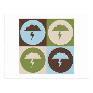 Pop Art Atmospheric Sciences Postcard