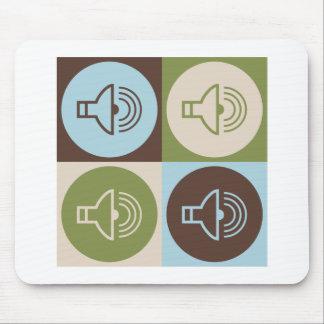 Pop Art Audiology Mouse Pad