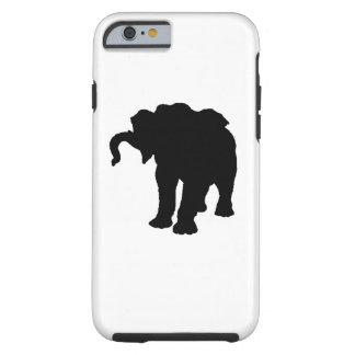 Pop Art Baby Elephant Silhouette iPhone 6 Case