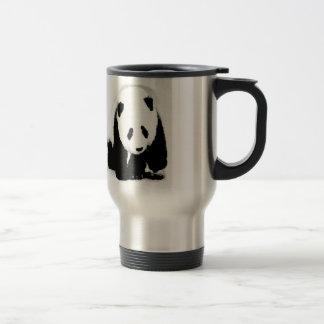 Pop Art Baby Panda 15 Oz Stainless Steel Travel Mug
