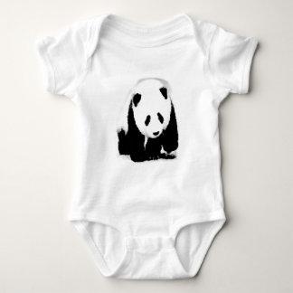Pop Art Baby Panda Baby Bodysuit