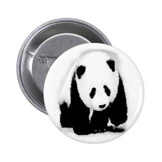 Pop Art Baby Panda Button