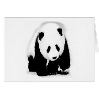 Pop Art Baby Panda Card