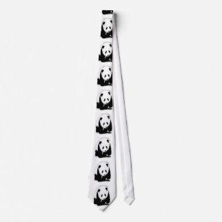 Pop Art Baby Panda Neck Ties