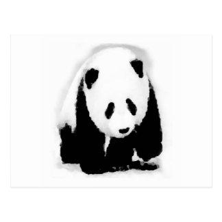 Pop Art Baby Panda Postcard
