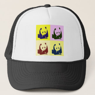 Pop Art Baby Pandas Trucker Hat