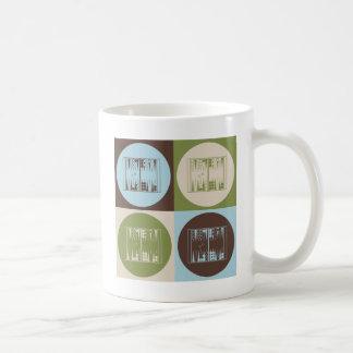 Pop Art Backgammon Coffee Mug