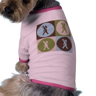 Pop Art Backpacking Pet Tshirt