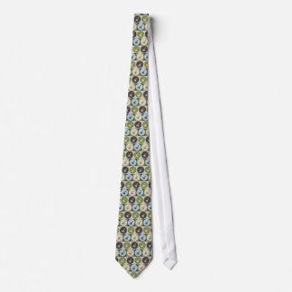 Pop Art Bagpipes Neck Tie