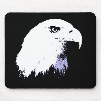 Pop Art Bald Eagle Mouse Pad
