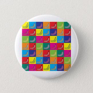 Pop Art Banana Pinback Button