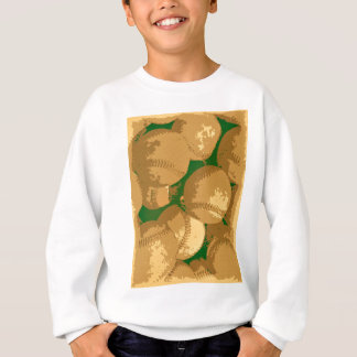 Pop Art Baseball Sweatshirt