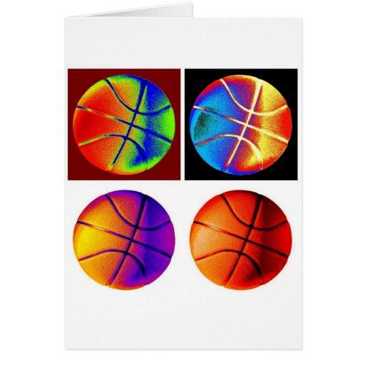 Pop Art Basketball Cards