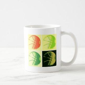 Pop Art Basketball Coffee Mug
