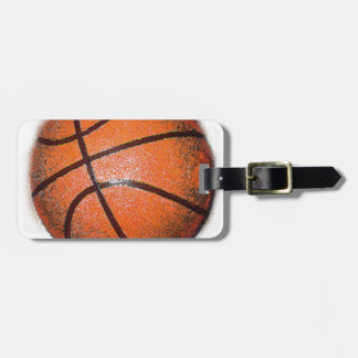 Pop Art Basketball Tags For Bags