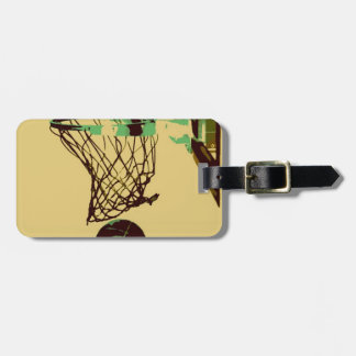 Pop Art Basketball Tags For Luggage