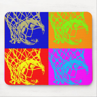 Pop Art Basketball Mouse Pad