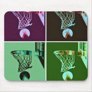 Pop Art Basketball Mousepads