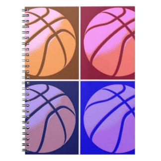 Pop Art Basketball Notebook