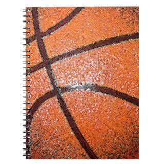 Pop Art Basketball Spiral Note Book