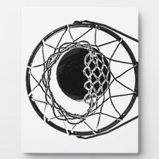 Pop Art Basketball Plaque