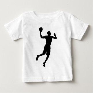 Pop Art Basketball Player Silhouette Baby T-Shirt