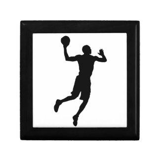 Pop Art Basketball Player Silhouette Gift Box