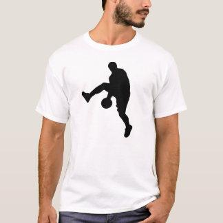 Pop Art Basketball Player Silhouette T-Shirt