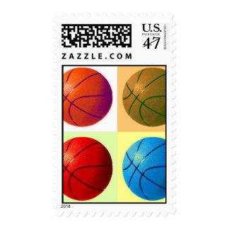 Pop Art Basketball Postage