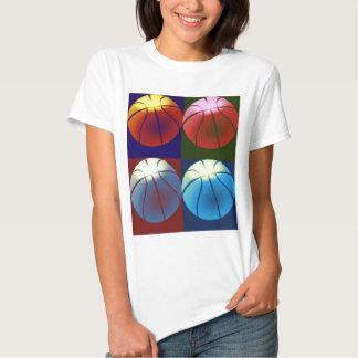 Pop Art Basketball Shirts