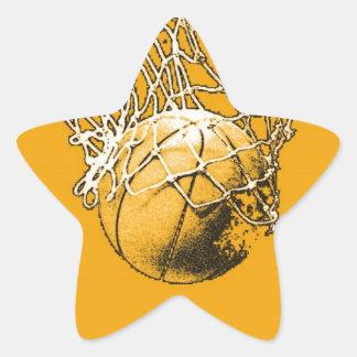Pop Art Basketball Star Sticker