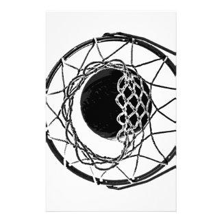 Pop Art Basketball Stationery